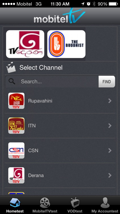 MobitelTV for iPhone