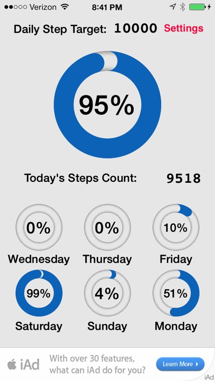 Step Counter App