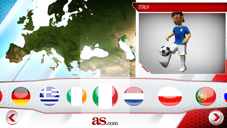 Striker Soccer Euro 2012 Lite: dominate Europe with your team screenshot-3