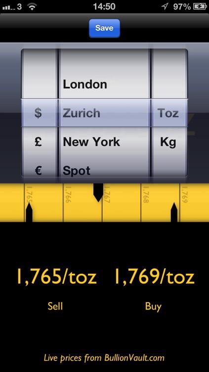 Gold Chart screenshot-3