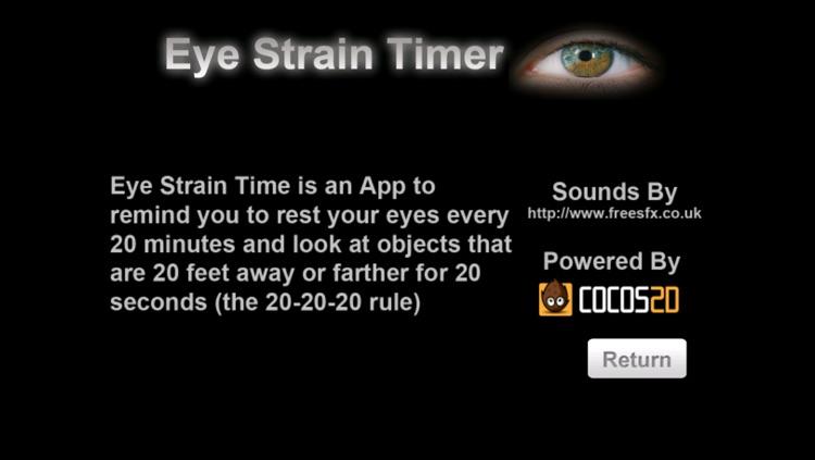 Simple EyeStrain Timer screenshot-3