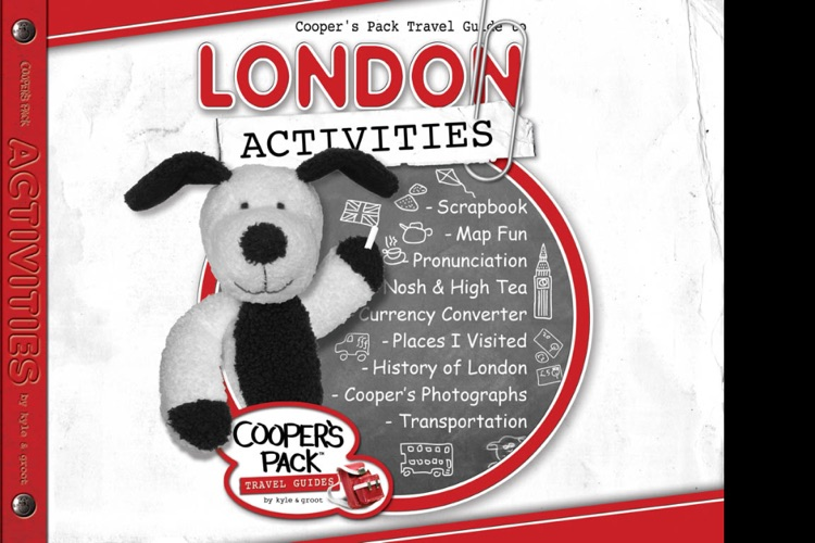 Cooper's Pack – London Children's Travel Guide screenshot-3