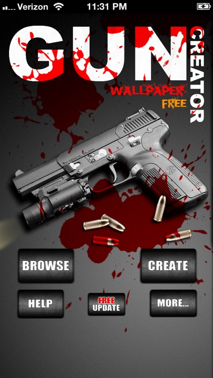Guns Wallpaper Creator! - FREE