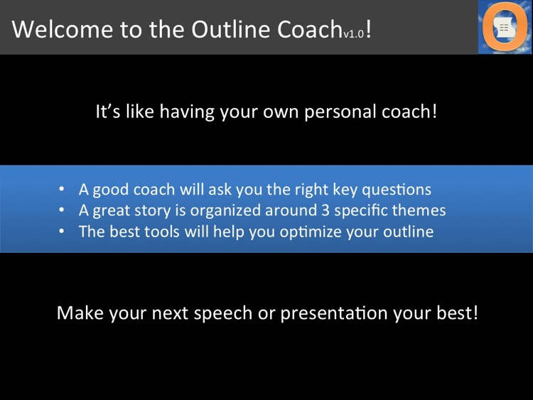 Outline Coach
