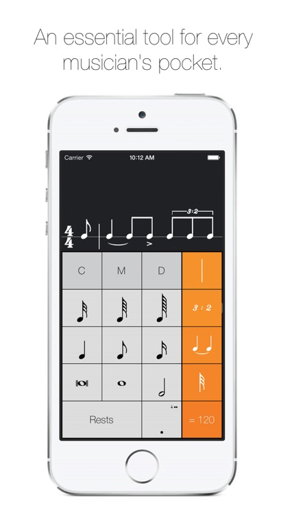 Rhythm Calculator - Advanced rhythm trainer and metronome screenshot-0