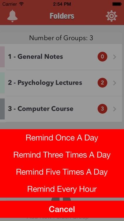Note Reminder screenshot-4