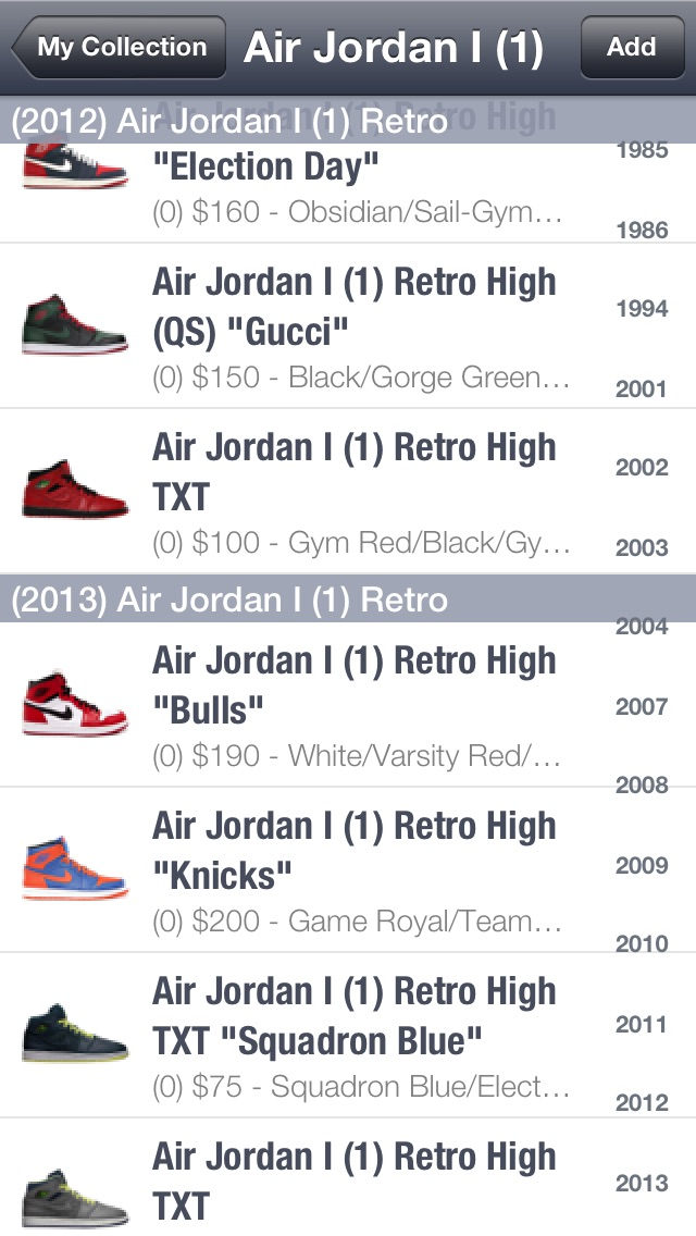 Screenshot for SPG: Sneaker Price Guide & Release Dates in United States App Store