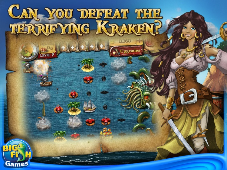 Plunder! HD – A Pirate Unblock Puzzle Adventure on the High Seas screenshot-4