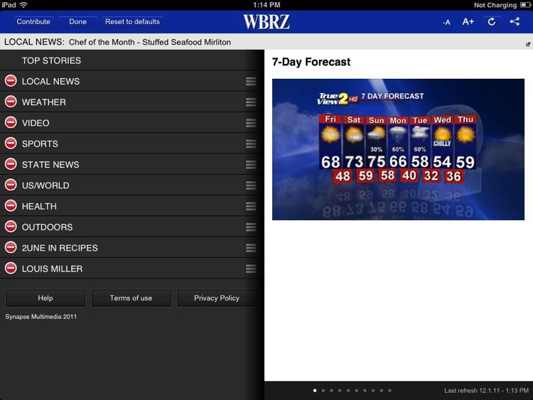 WBRZ for iPad screenshot-4