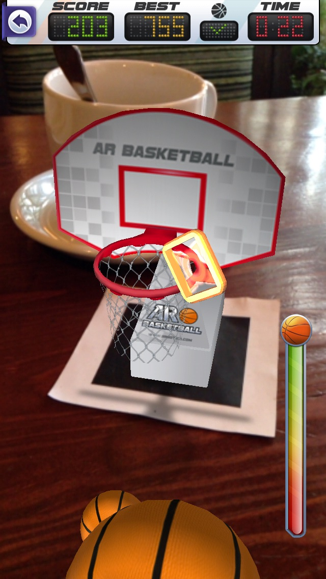 ARBasketball - Augmented Reality Basketball Gameのおすすめ画像4