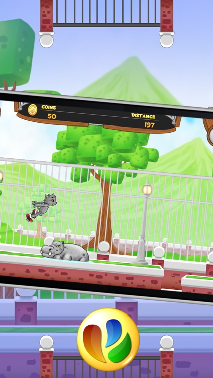Animal Jump and Run - Free Fun Pet Game