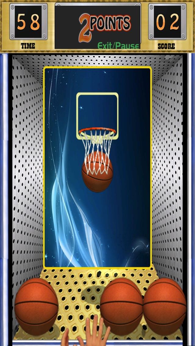無料のバスケットボールゲーム - バスケットボールブリッツトップスコア版のスクリーンショット3