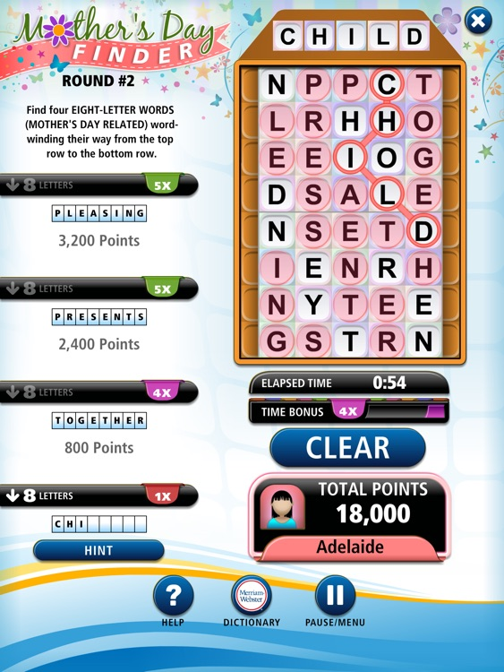 Word Winder HD