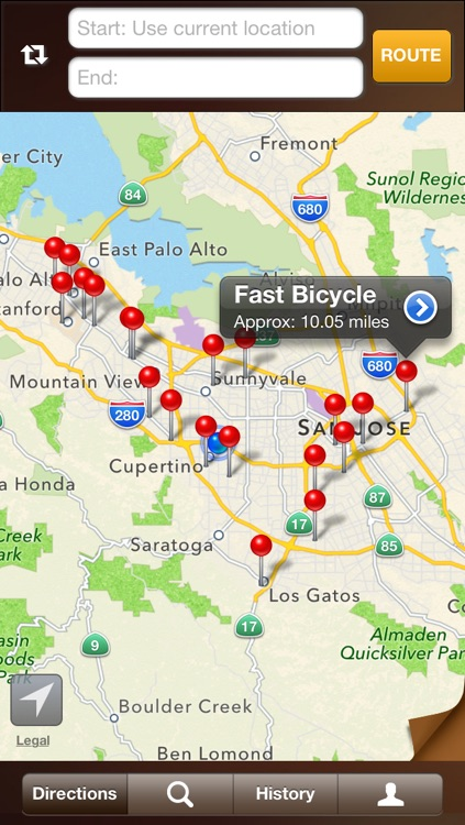 Bike On - Bicycle Routes, Maps with Voice Guided Navigation screenshot-3