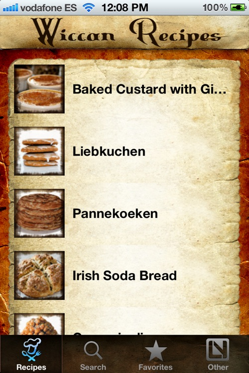 Wiccan Recipes screenshot-1