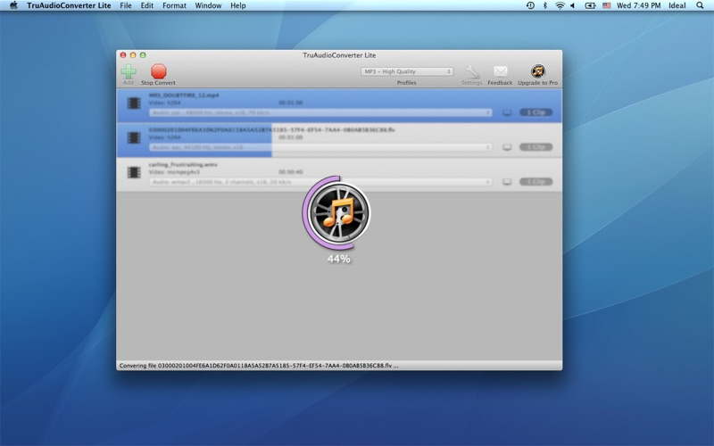 TruAudioConverterLite скриншот программы 4