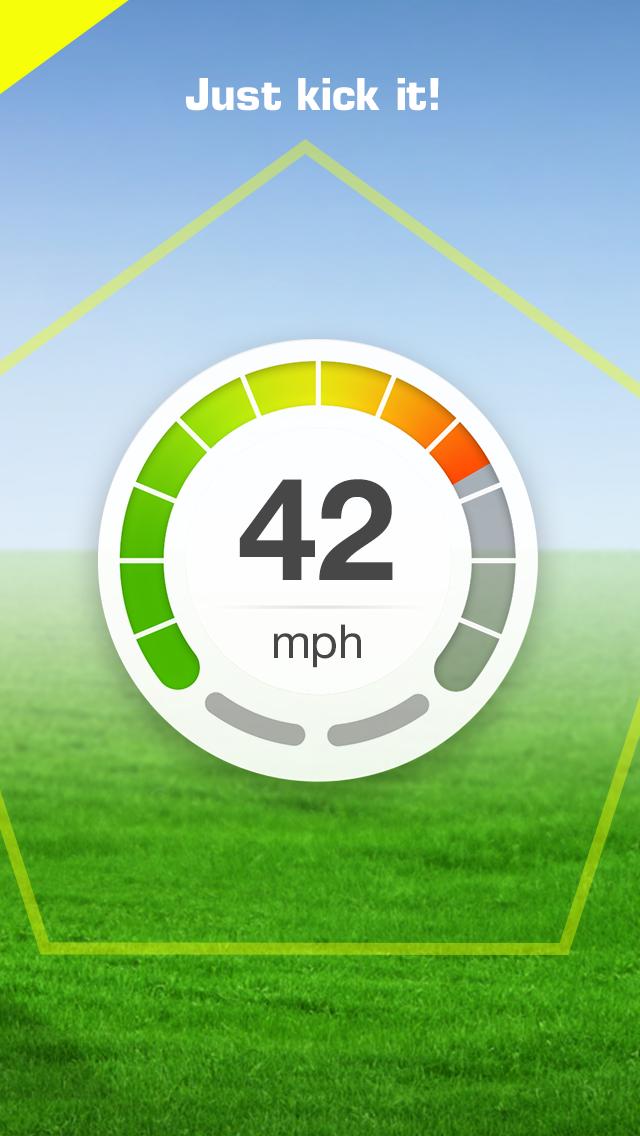 KickPower - Soccer Ball Speed Detector screenshot four