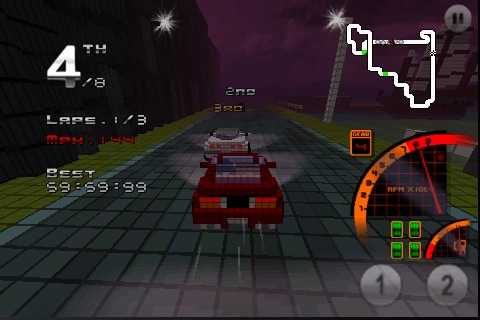 3D Pixel Racing screenshot-3