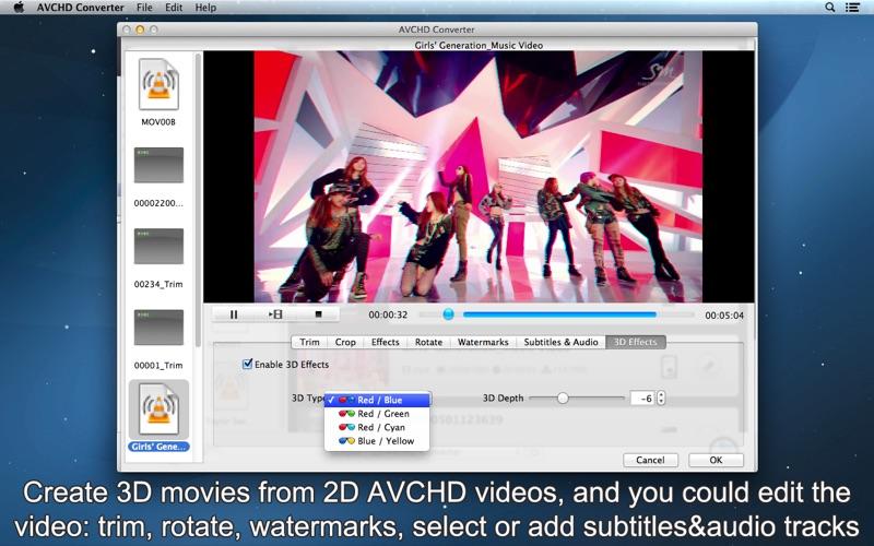 AVCHD Converter Screenshot