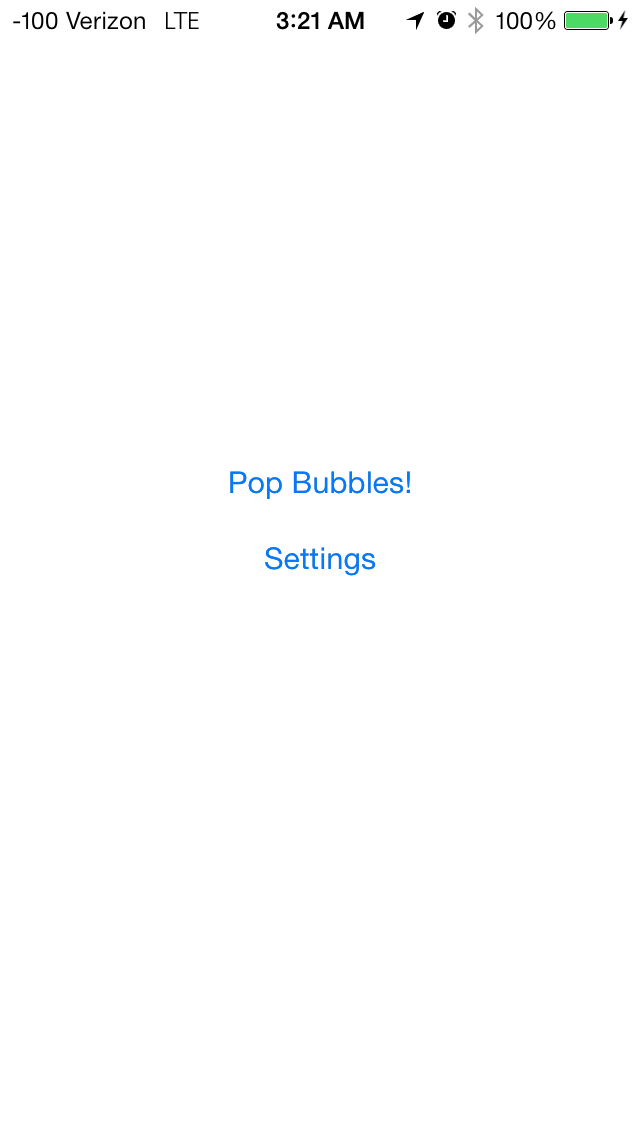 Bubbles - Color Matching Game screenshot one