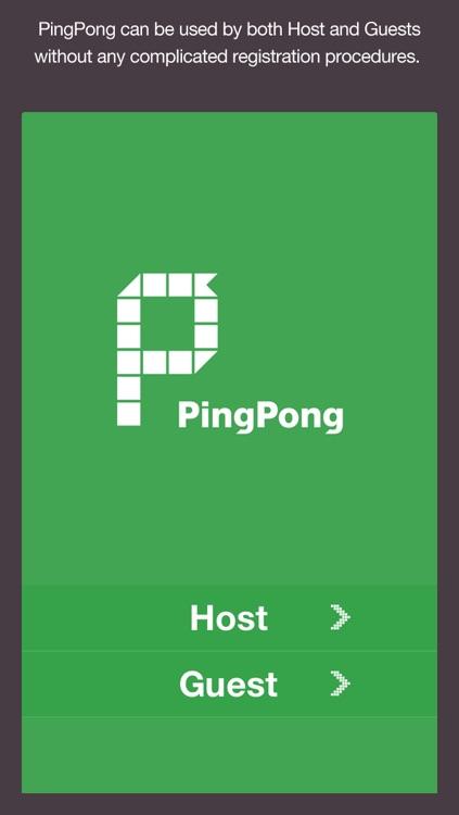PingPong - SPOT Networking