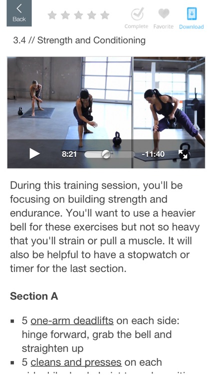 Kettlebell Fitness with Lauren Brooks screenshot-3