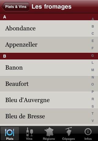 Food & Wine : more than 3000 matchings for your menus! screenshot-4