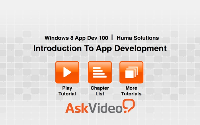 AV for Windows 8 App Dev - Introduction To App Dev скриншот программы 2