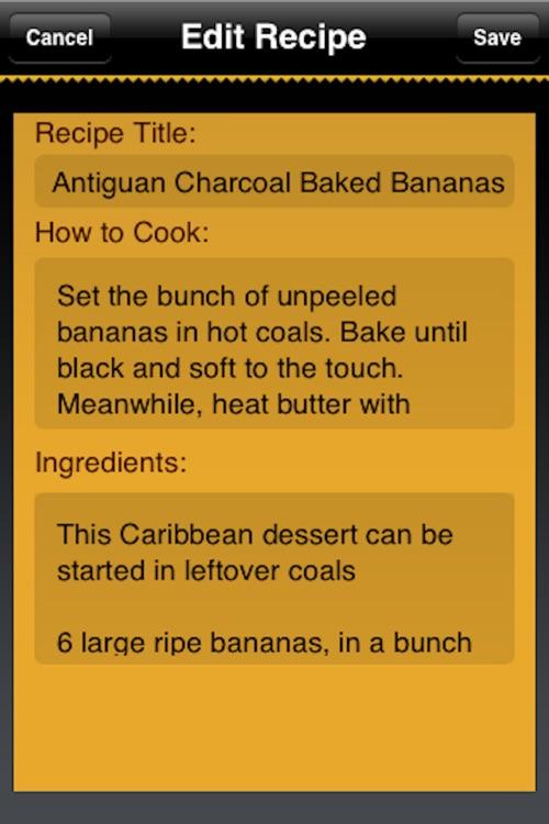 Camping & BBQ Recipes screenshot-3