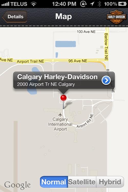 iFIND - Harley Davidson Shop Finder (USA and Ca... screenshot-4