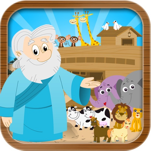 Noah's Ark Bible Story with Built-in Games - Fun and Interactive in HD