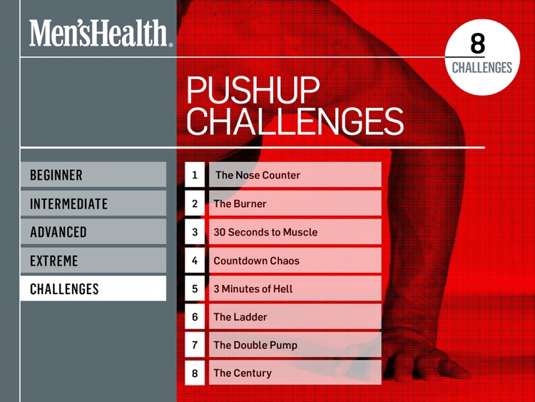 Men's Health Pushup Challenge