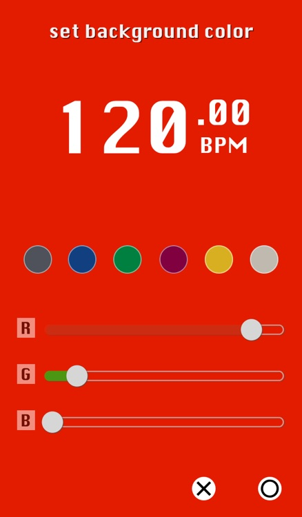 Catch The Beats - BPM Counter by Tap and Vibration screenshot-3