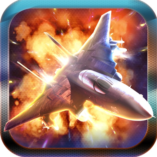 Aerial Jet War Shooter: Fighting Combat Pro Game icon
