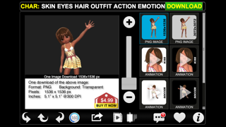 3DiLLUSTRATOR for iBooks and iMovie Screenshot on iOS