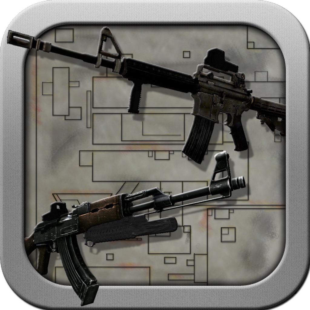 Gun Assembler 3D Pro - Free Gun Builder and Shooting Range