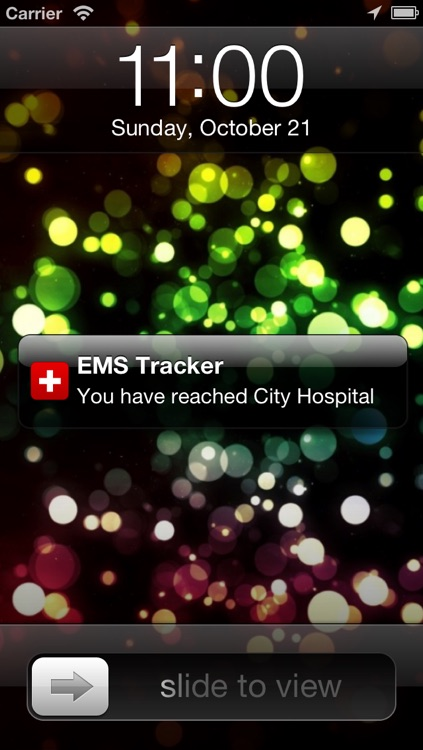 EMS Tracker - EMT, Fire and Ambulance GPS Log screenshot-2