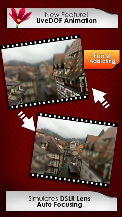 LiveDOF - Blur Tiltshift Animation Creator