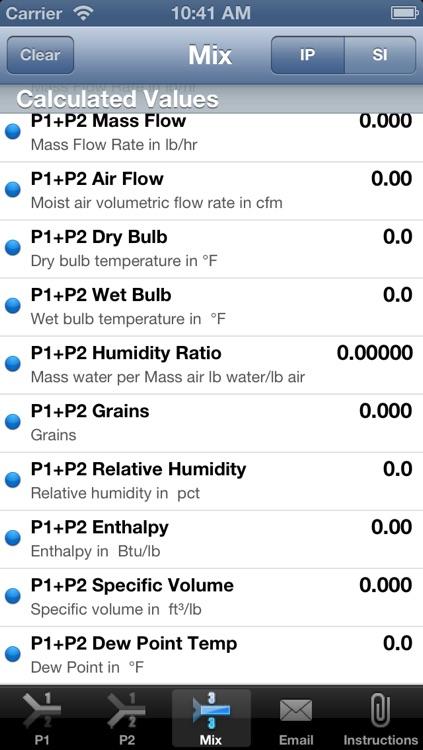 HVAC Buddy® Psychrometric screenshot-4