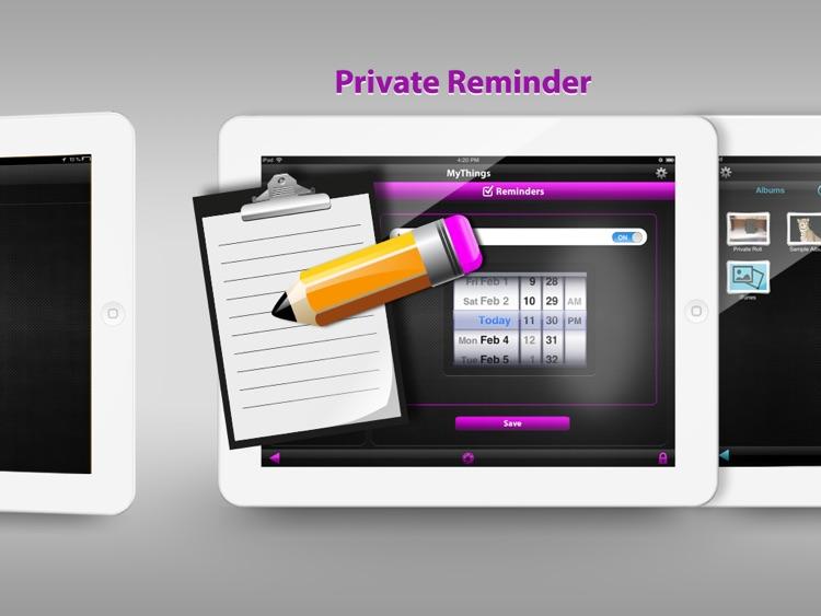 MyThings for iPad