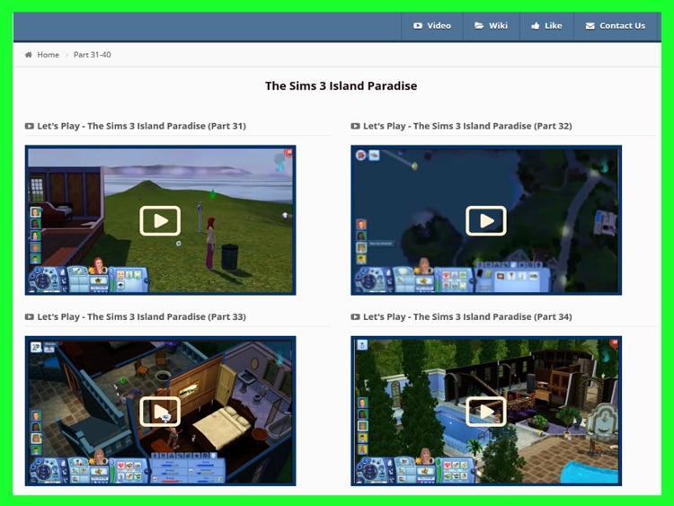 Guide for The Sims 3 Island Paradise screenshot-4