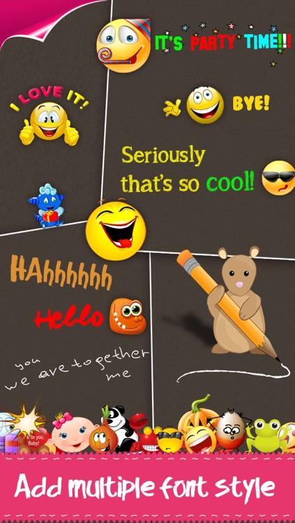 Color Text, Animated 3D Emoji & Multi Emoticons