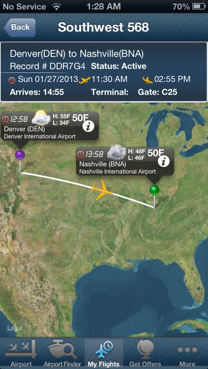 Nashville Airport + Flight Tracker Premium