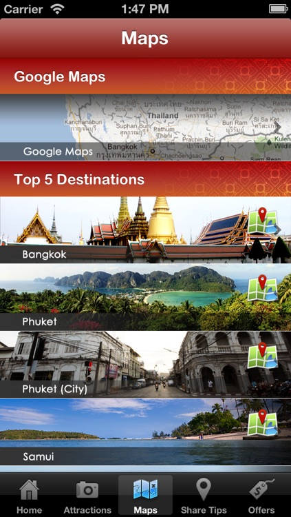 Thailand Travel by DiscoveryThailand.com screenshot-3