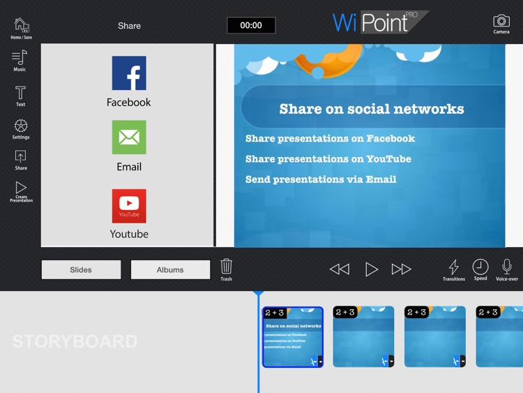 WiPoint HD Pro - Make HD video presentation & photo slideshow screenshot-4