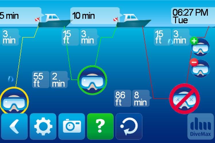 DiveMax AIR Dive Planner