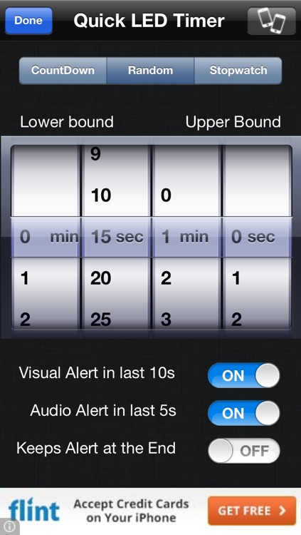 Quick LED Timer Lite screenshot-4