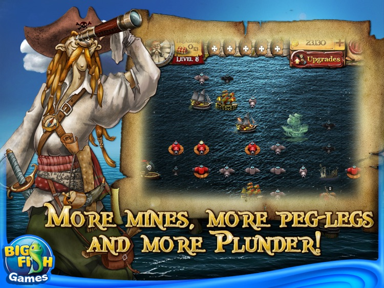 Plunder! HD – A Pirate Unblock Puzzle Adventure on the High Seas screenshot-3