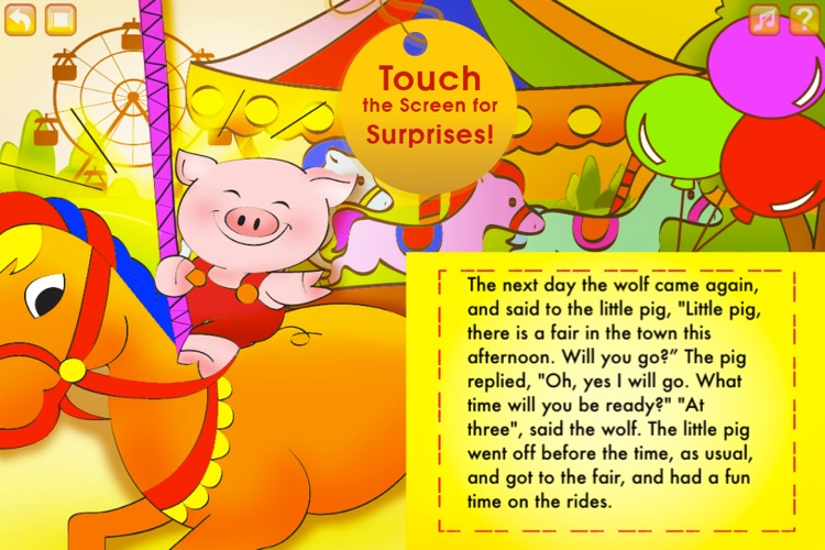 The Three Little Pigs Storybook HD