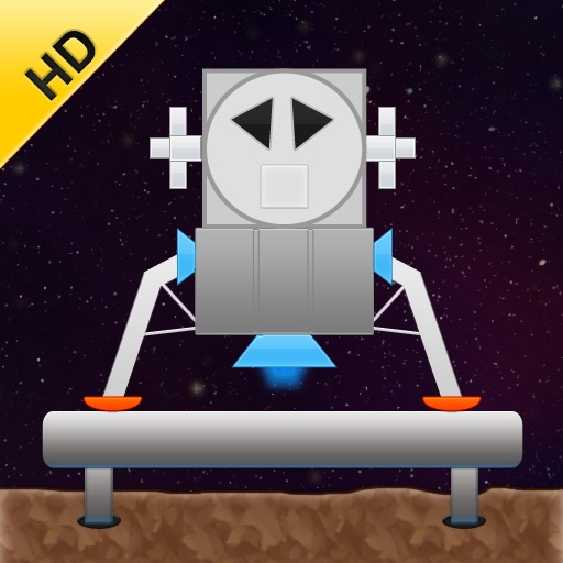 Spaceship Landing HD icon